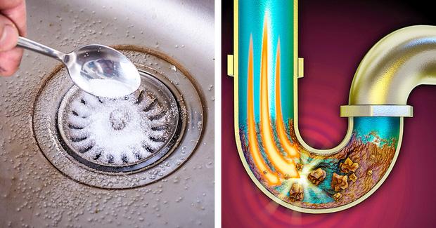 6 cách thông tắc bồn rửa từ những nguyên liệu sẵn có trong nhà bếp, chi phí chưa đến vài chục ngàn-1