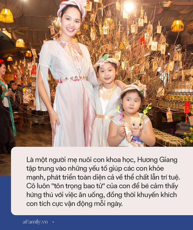 Hoa hậu Hương Giang nuôi con theo đúng kiểu mẹ bỉm hiện đại: Con gái lớn chân dài miên man, gái nhỏ bụ bẫm đáng yêu-15