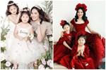Hoa hậu Hương Giang nuôi con theo đúng kiểu mẹ bỉm hiện đại: Con gái lớn chân dài miên man, gái nhỏ bụ bẫm đáng yêu