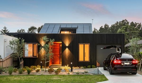 Thiết kế giếng trời cho biệt thự 74m2, kiến trúc hiện đại tự nhiên đến mọi ngóc ngách-1