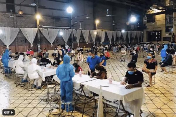 Hỏa tốc giãn cách xã hội toàn huyện Yên Phong của Bắc Ninh từ 14 giờ ngày 15-5-1
