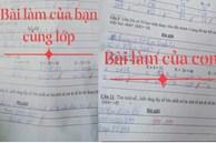 Mẹ hoang mang xin ý kiến khi so sánh bài kiểm tra Toán lớp 1 của con và bạn cùng lớp: Là cô sai hay trò sai?
