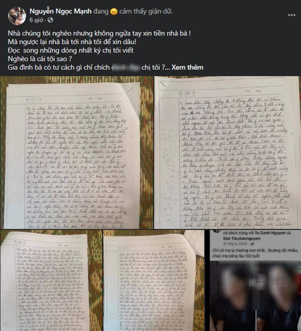 Chị họ mất tích rồi qua đời, để lại những dòng nhật ký đẫm nước mắt tố mẹ chồng tệ bạc, người hùng Nguyễn Ngọc Mạnh không giấu được sự xót xa-5