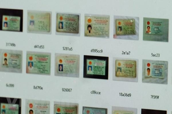 Hàng ngàn chứng minh nhân dân Việt Nam bị rao bán công khai trên mạng-1