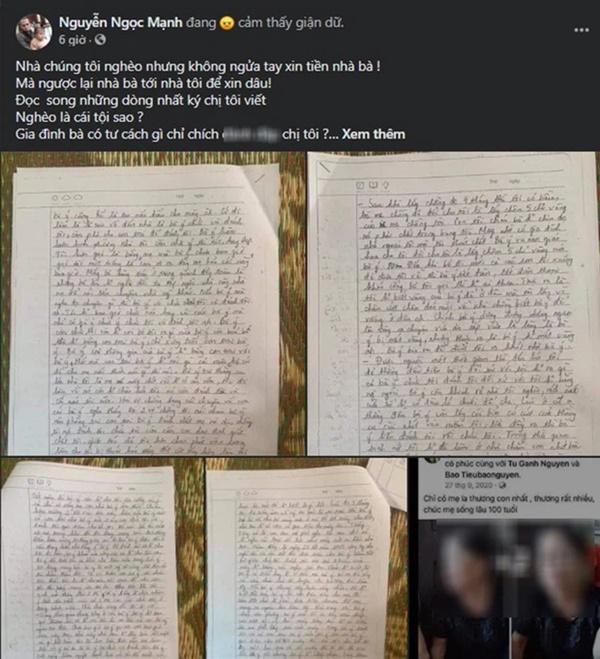 Vụ chị họ anh Nguyễn Ngọc Mạnh tử vong, để lại 4 trang nhật ký tố mẹ chồng ngược đãi: Bất hạnh từ nhỏ và dự cảm chẳng lành ngày sắp lên xe hoa-2