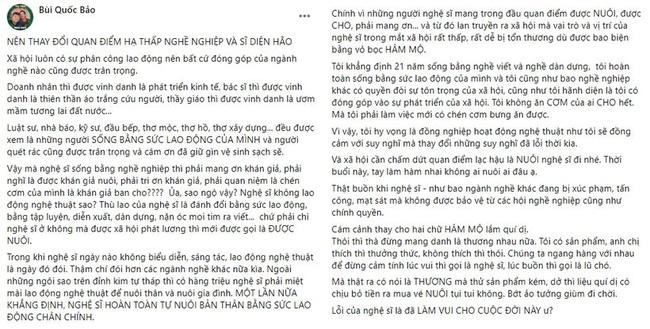 Quan điểm công chúng nuôi nghệ sĩ của bà Nguyễn Phương Hằng khiến dàn nghệ sĩ Việt xôn xao: Nghệ sĩ kiếm tiền từ công chúng mà lại im lặng hại công chúng!-2