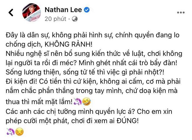 Nathan Lee tiếp tục lên tiếng giữa drama đại gia Phương Hằng và sao Việt: Nhiều nghệ sĩ nên bổ sung kiến thức-1