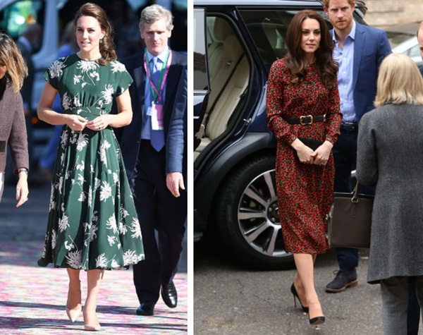 Công nương Kate cứ diện mẫu váy này là bị cộng thêm 5 tuổi, chị em xem mà rút kinh nghiệm-1