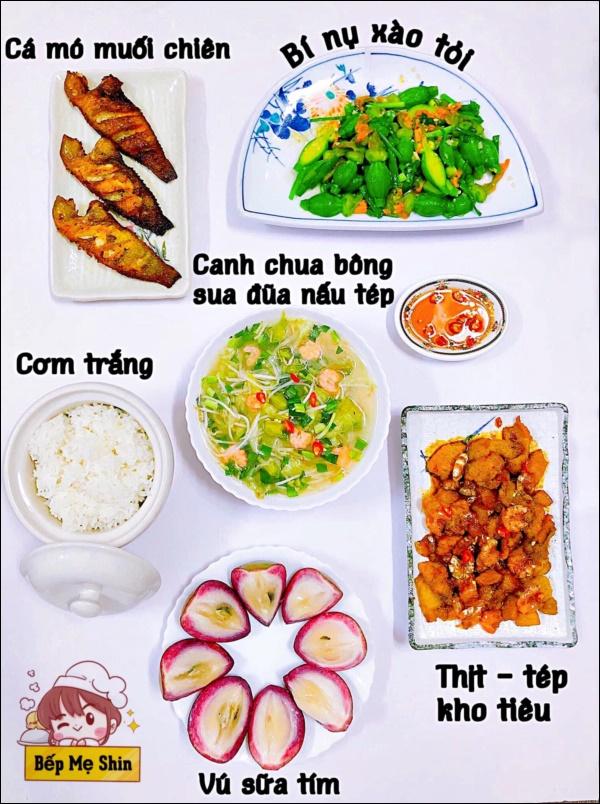 Cô gái Sài Gònlười vào bếp lấy chồng rồi lại trở thành vợ đảm, nấu siêu ngon khiến chồng mê tít chỉ muốn ăn cơm nhà-7