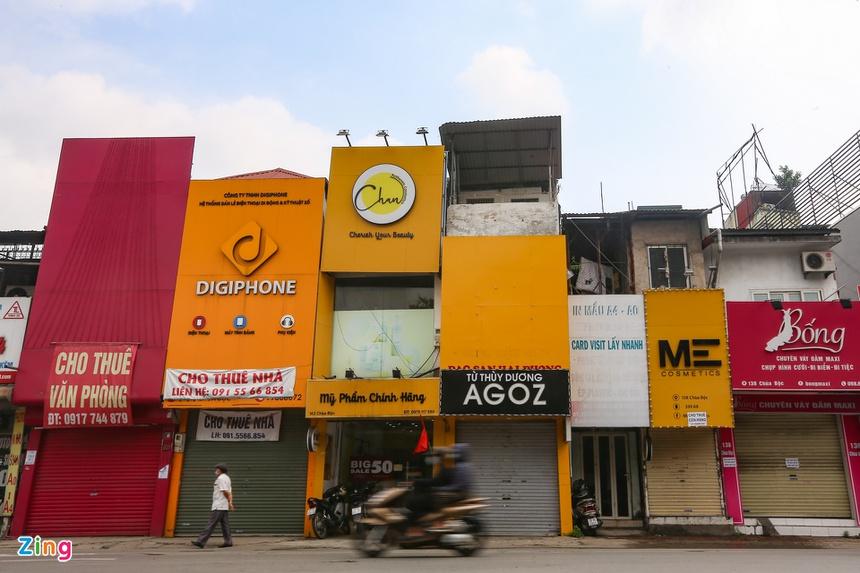 Phố phường Hà Nội vắng vẻ-2