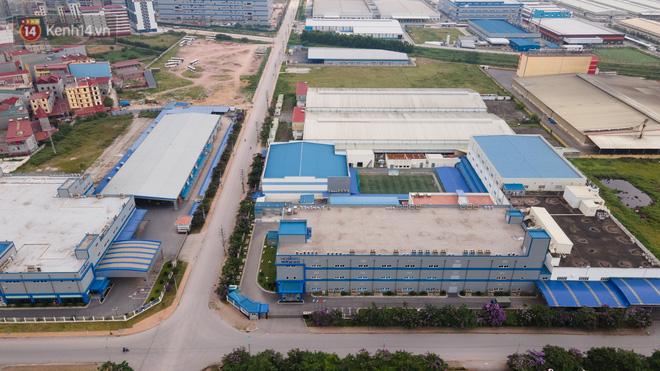 Cận cảnh phong tỏa công ty Hosiden - ổ dịch hơn 200 ca Covid-19 ở Bắc Giang-3