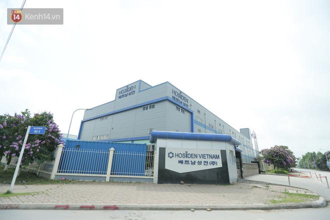 Cận cảnh phong tỏa công ty Hosiden - ổ dịch hơn 200 ca Covid-19 ở Bắc Giang-4