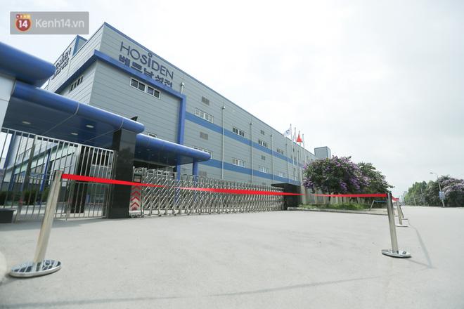 Cận cảnh phong tỏa công ty Hosiden - ổ dịch hơn 200 ca Covid-19 ở Bắc Giang-5