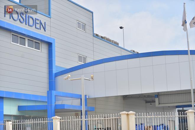 Cận cảnh phong tỏa công ty Hosiden - ổ dịch hơn 200 ca Covid-19 ở Bắc Giang-10