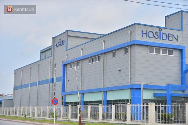 Cận cảnh phong tỏa công ty Hosiden - ổ dịch hơn 200 ca Covid-19 ở Bắc Giang-11