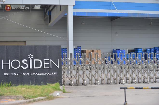 Cận cảnh phong tỏa công ty Hosiden - ổ dịch hơn 200 ca Covid-19 ở Bắc Giang-12