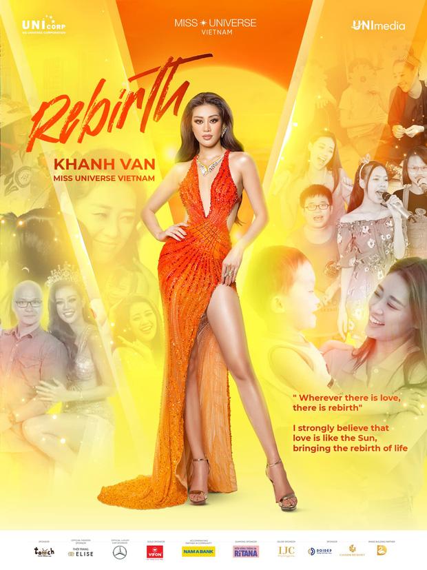 Trước Chung kết Miss Universe, lộ diện trang phục dạ hội mới của Khánh Vân, nhưng sao lại gây tranh cãi thế này?-3
