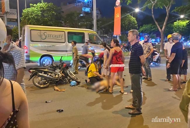 Cô gái quyết bám vào tay tên cướp điện thoại trong đêm ở TP.HCM bị đa chấn thương, tràn khí màng phổi-1