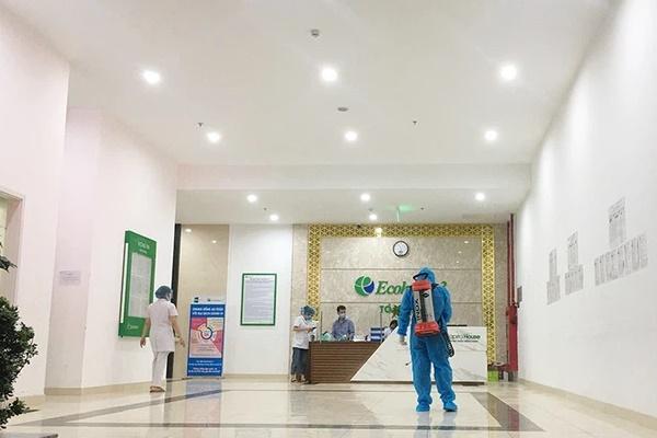 Thêm 1 ca nghi dương tính với SARS-CoV-2 tại Quận Bắc Từ Liêm liên quan đến Bệnh viện Phổi Trung ương-1