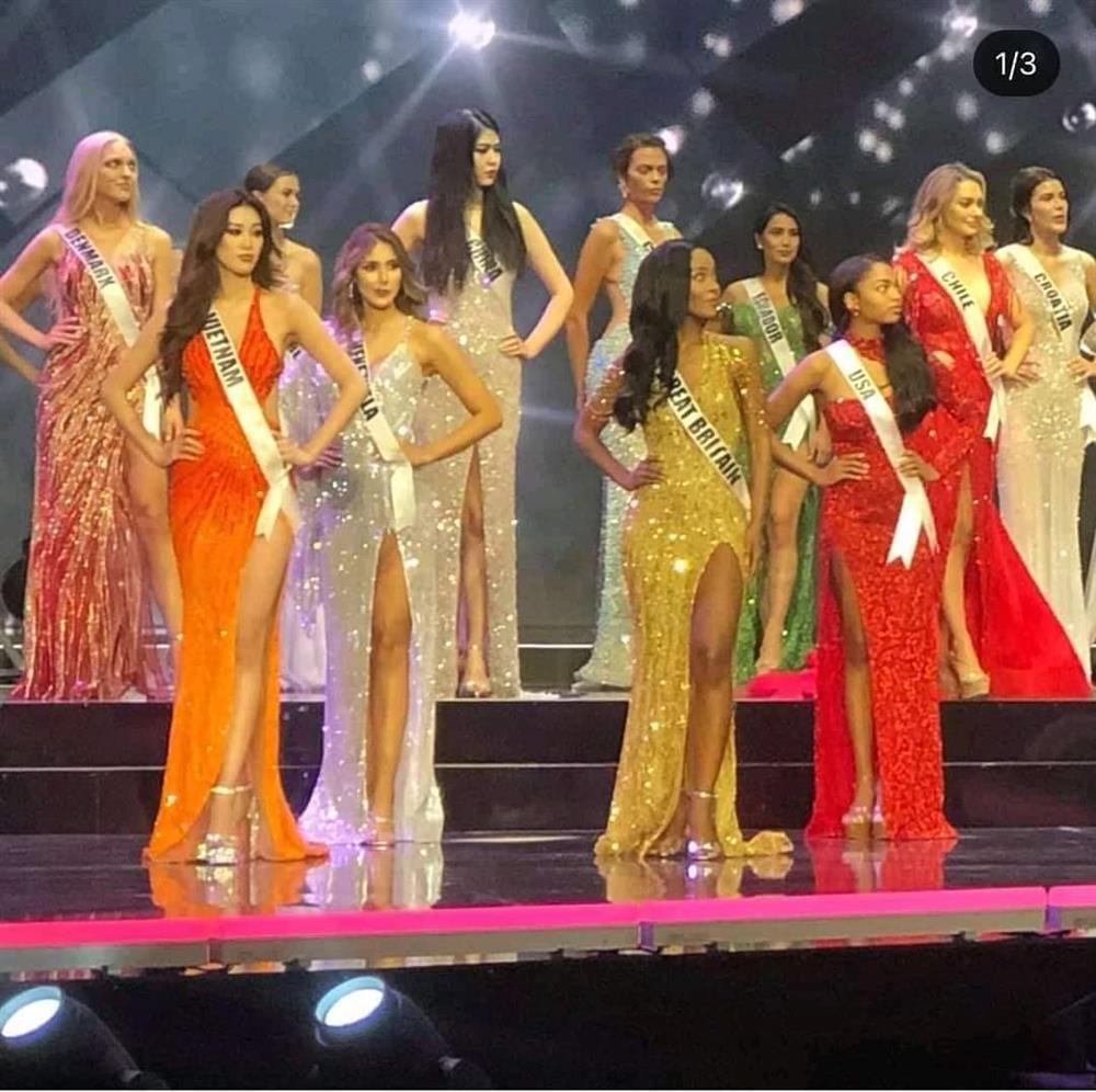 """Khánh Vân mặc váy Tái Sinh"""" tại chung kết Miss Universe 2020, netizen thắc mắc 1 điều về đôi giày-1"""