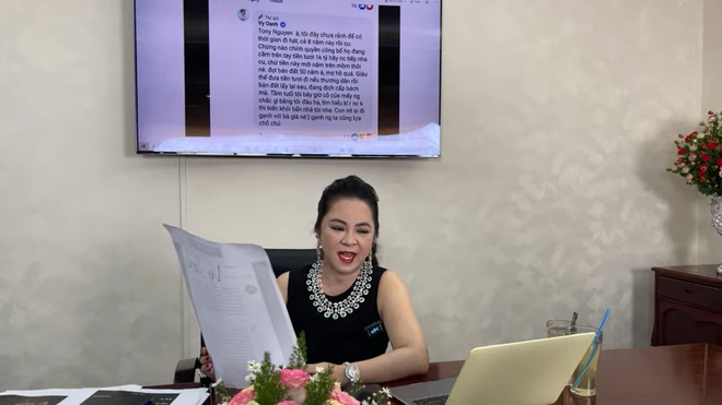 Bị Vy Oanh nghi ngờ chuyện từ thiện 1000 tỷ, bà Phương Hằng: Tôi sẽ lôi hết dĩ vãng của cô này ra-2