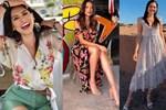 Style đời thường của Tân Hoa hậu Hoàn vũ Mexico: Chuẩn 'bánh bèo chúa' khi diện toàn váy áo hoa lá hẹ