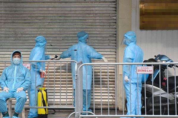 Hà Nội: Thêm một ca dương tính SARS-CoV-2 ở quận Thanh Xuân-1