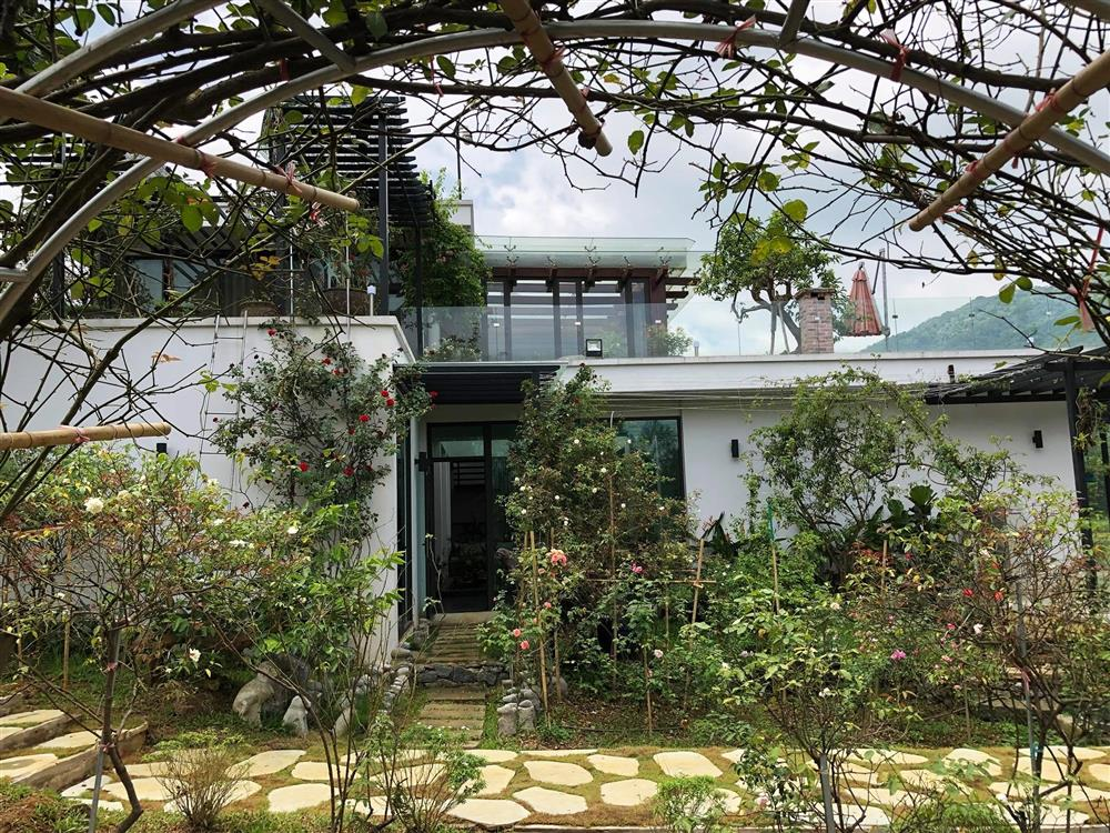Cận cảnh khu vườn trong căn biệt phủ ngoại ô của hot mom Văn Thùy Dương, trồng được cả loại ớt đắt nhất thế giới có giá gần 1 tỷ đồng/kg-8