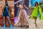 Á hậu 1 Miss Univese 2020 từng diện bộ quốc phục 'nhức nhối', hành trang chinh chiến chỉ hơn 10 bộ đồ
