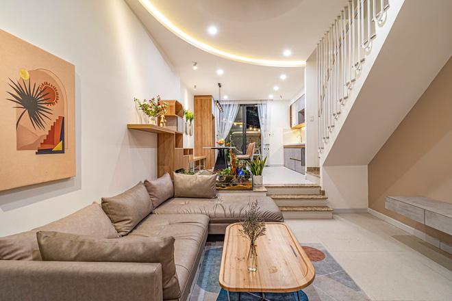 Có mảnh đất 75m2, vợ chồng Đà Nẵng xây nhà cực khéo: Trong nhà nghe tiếng nước chảy, ngoài vườn nghe tiếng chim hót-5