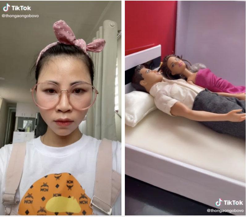 Thơ Nguyễn phụng phịu dỗi vì làm video búp bê theo yêu cầu của khán giả nhưng đăng lên không ai xem-2