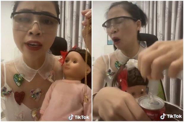 Thơ Nguyễn phụng phịu dỗi vì làm video búp bê theo yêu cầu của khán giả nhưng đăng lên không ai xem-1