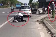 Đại úy công an giải trình thế nào về việc đứng bấm điện thoại, để tài xế taxi một mình vật lộn với tên cướp trốn truy nã?