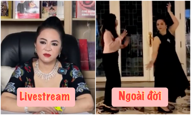 Clip: Đại gia Phương Hằng vui vẻ thể hiện khả năng vũ đạo ngoài đời, khác hẳn lúc gay gắt trên livestream-5