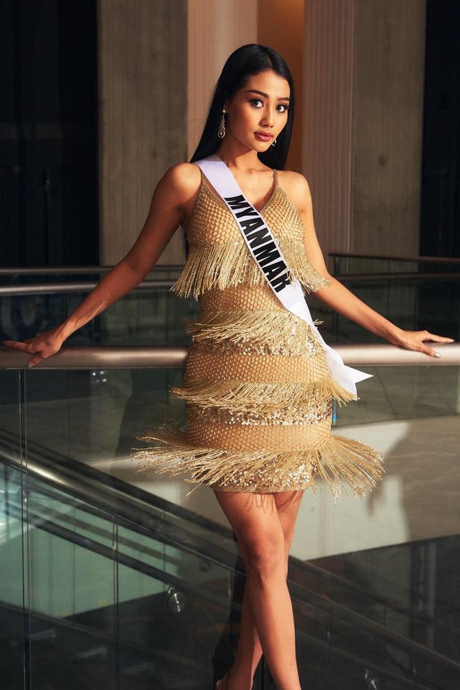 Hoa hậu Hoàn vũ Myanmar bị truy nã sau khi cầu cứu tại Chung kết Hoa hậu Hoàn vũ 2020-3