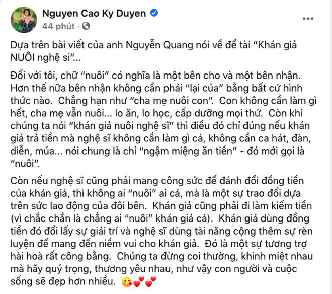Bà Phương Hằng tuyên bố: Tôi và Kỳ Duyên sẽ có một cuộc tranh luận-2