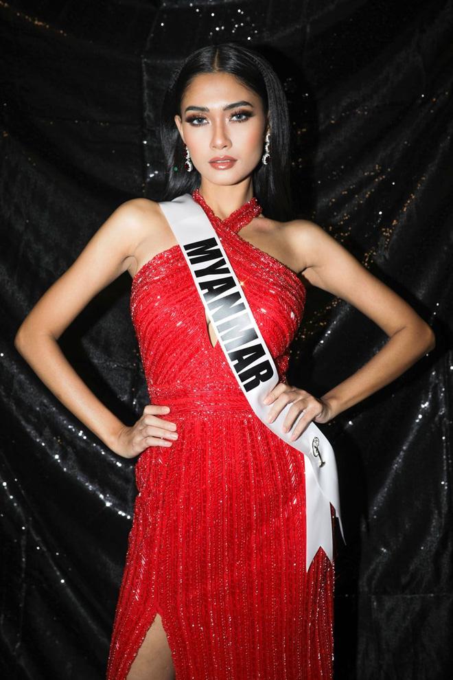 Nhan sắc của Hoa hậu Myanmar gây chú ý vì cầu cứu trên sân khấu Hoa hậu Hoàn vũ Thế giới?-3