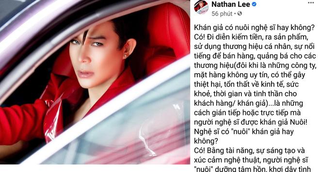 Nathan Lee nói thẳng vụ khán giả nuôi nghệ sĩ: Đừng dùng bàn phím cào nát mặt họ!-1
