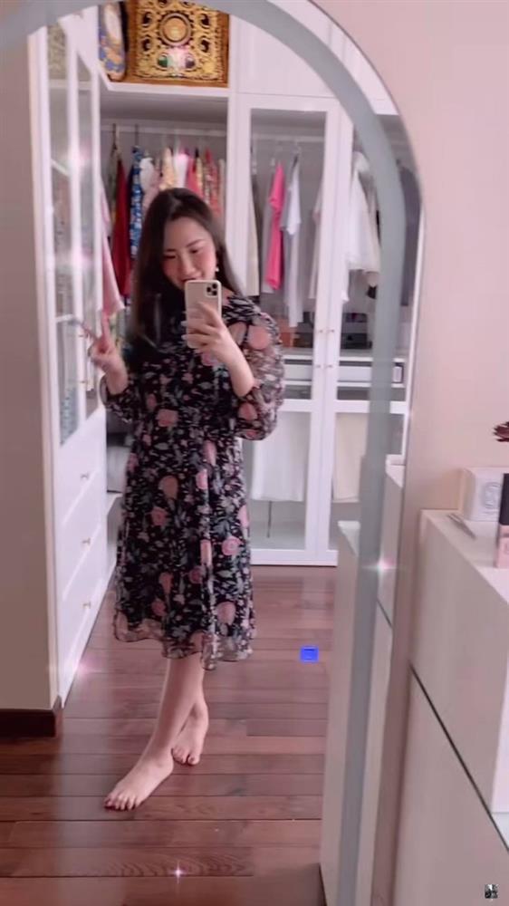 Vợ TGĐ Phan Thành show cận cảnh nhan sắc sau tin mang bầu, tiết lộ lý do dạo này hiếm khi xuất hiện trên mạng-3