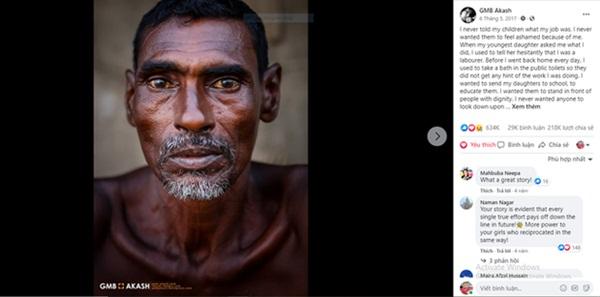 Bức ảnh hơn 600.000 like và câu chuyện ứa nước mắt về nghề bị cho là bẩn thỉu nhất thế giới: Vì miếng cơm manh áo, có chui xuống cống cũng cam lòng!-2
