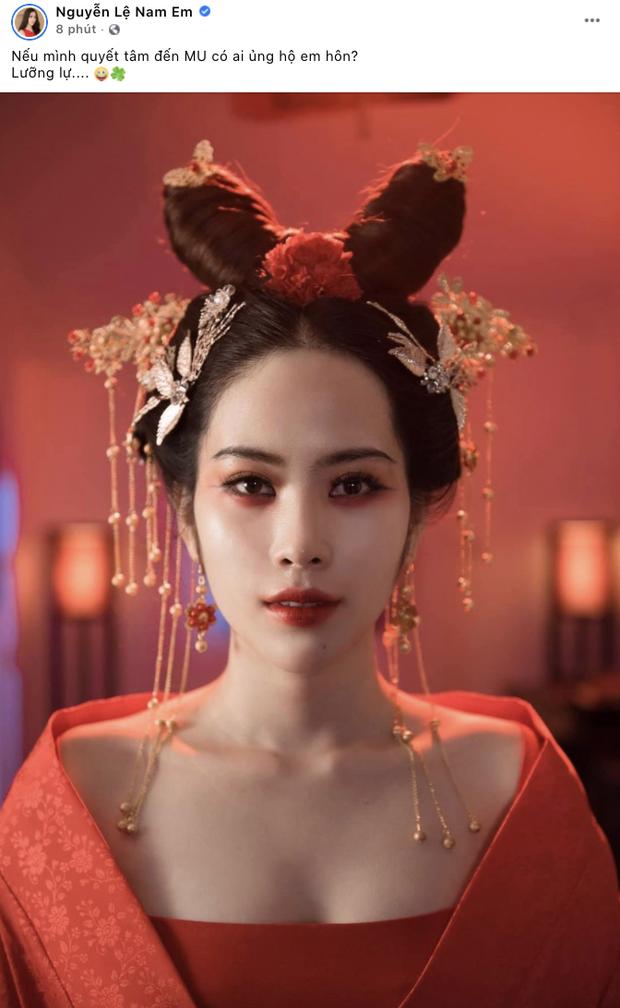Sau thành tích rực rỡ của Khánh Vân, Nam Em hạ quyết tâm đi thi Miss Universe?-1