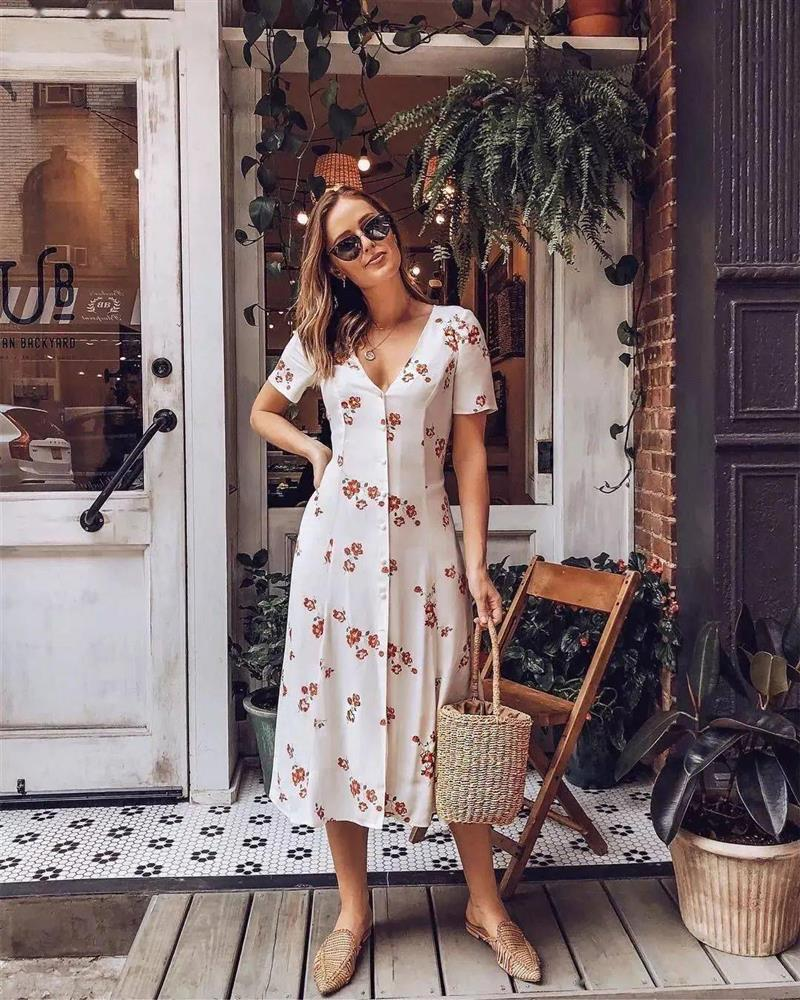 Mùa Hè định sắm váy hoa thì phải ghim ngay 4 tips này để tìm được kiểu váy ưng ý nhất-7