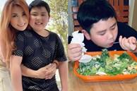 Cậu út nhà Bằng Kiều mới 10 tuổi đã rất nghị lực trong ăn uống để giảm cân,các mẹ khuyên phải làm thêm điều này để có hiệu quả tốt