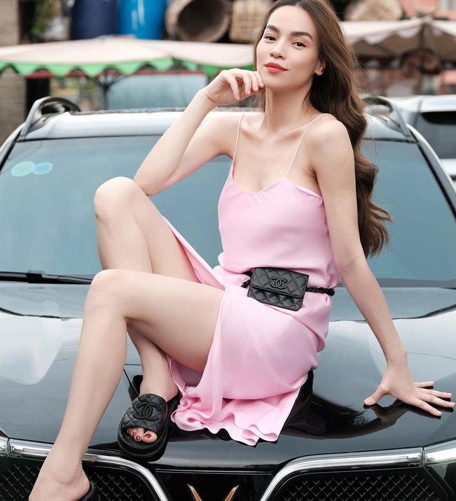 5 kiểu váy hai dây được mỹ nhân Việt ưa chuộng: Dễ tìm mua nhưng hiệu quả tôn dáng không phải dạng vừa!-7