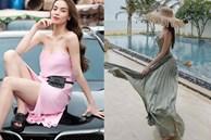5 kiểu váy hai dây được mỹ nhân Việt ưa chuộng: Dễ tìm mua nhưng hiệu quả tôn dáng không phải dạng vừa!