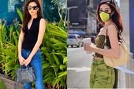 Style đời thường của Khánh Vân trái ngược hẳn với phong cách lồng lộn khi nàng hậu đi thi Miss Universe