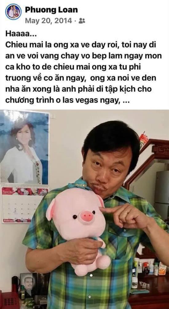 5 tháng sau khi NS Chí Tài qua đời, ca sĩ Phương Loan chia sẻ lại kỷ niệm xưa kèm vỏn vẹn 2 chữ mà xót xa-1