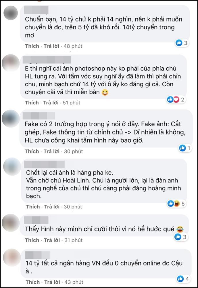 Cộng đồng mạng xôn xao trước nghi vấn bức ảnh Hoài Linh chuyển khoản 14 tỷ đồng là giả-7