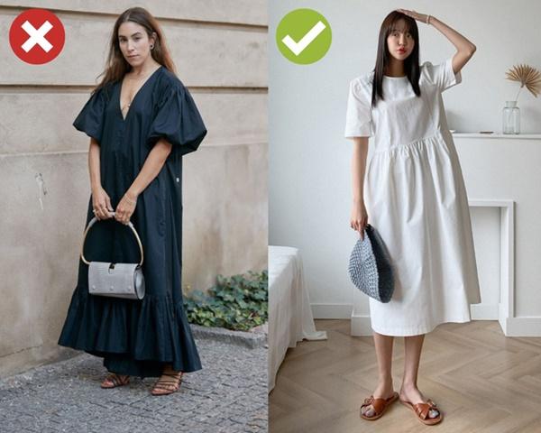 5 lỗi diện đồ khiến bạn không bao giờ được khen mặc đẹp, vóc dáng lùn hẳn đi 5cm-4