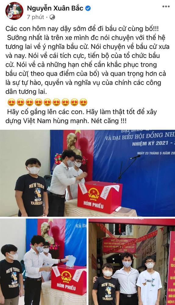 Sao Việt nô nức đi bầu cử: Tiểu Vy, Huyền My dậy sớm làm thanh niên gương mẫu, Khánh Vân từ Mỹ cũng hào hứng hưởng ứng-2